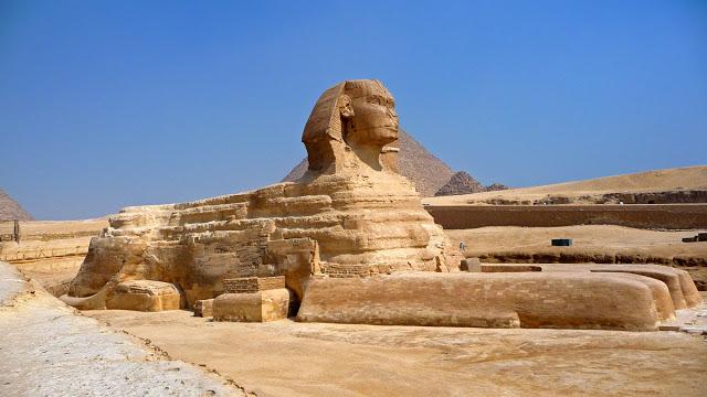 Resultado de imagen para 8. La Gran Esfinge de Giza