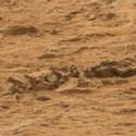 Post Thumbnail of El Curiosity puede haber fotografiado el fósil de un animal marciano
