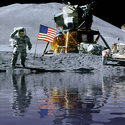 "Post Thumbnail of NASA: ""OK, hay agua en la Luna"""