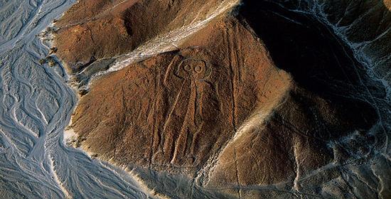 """Les """"antient aliens"""" ou extraterrestre d'autrefois Nazca-astronaut"""