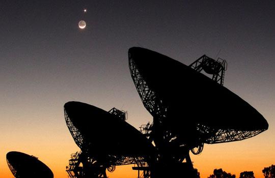 sonificación del SETI con radio telescopios