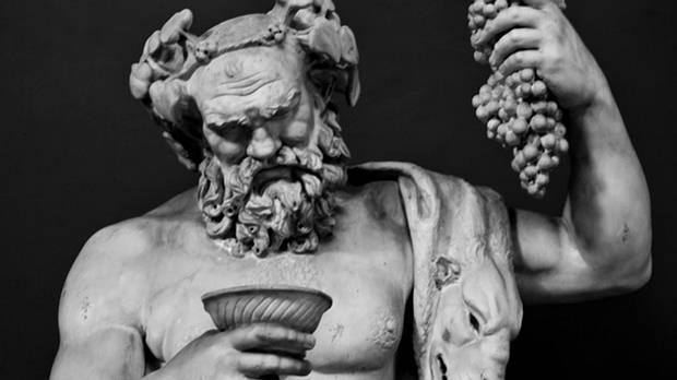 En la mitología clásica, Dioniso es el dios de la vendimia y el vino, inspirador de la locura ritual y el éxtasis, y un personaje importante de la mitología griega. Fue también conocido como Baco debido al frenesí que inducía, 'bakcheia'.