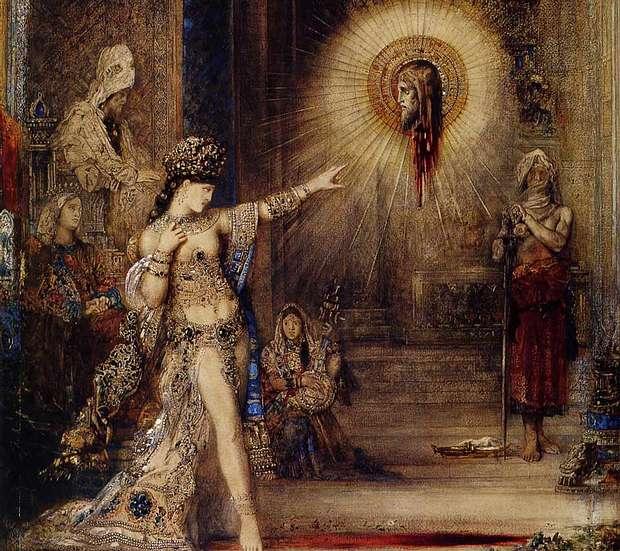 Gustave Moreau (L'apparition, Réunion des Museés Nationaux).
