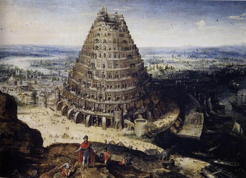 Esta representación fue hecha por el pintor L. van Valckenborch entre 1535 y 1597. Está en el museo del Louvre.