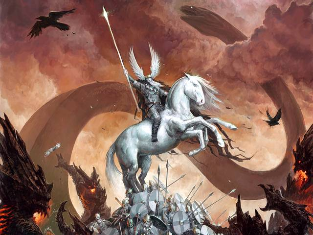 Ragnarök, la batalla del fin del mundo.