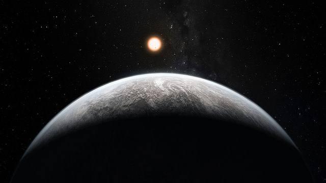 Impresión artística del planeta HD 85512b.