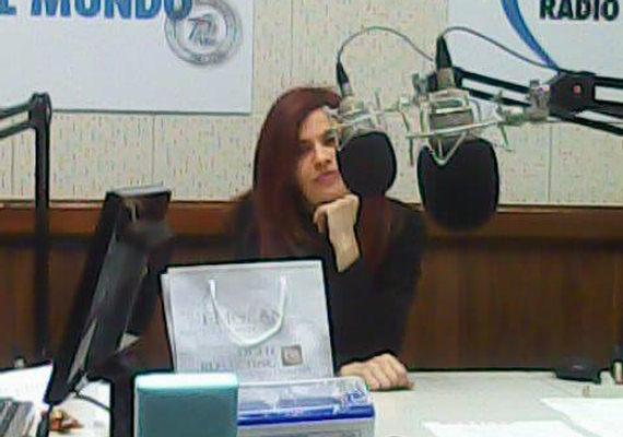 Débora Goldstern en Radio El Mundo.