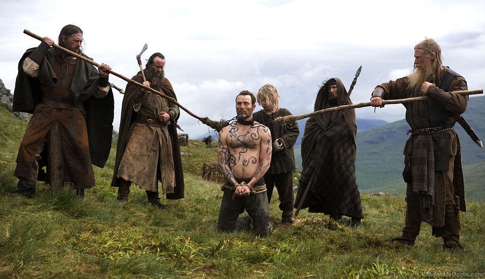 Escena de la película Valhalla Rising (2009)