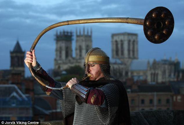El final del mundo fue señalado esta semana en la ciudad de York cuando el cuerno fue soplado para anunciar el comienzo del Apocalipsis.