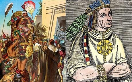 Atahualpa, el último emperador inca.
