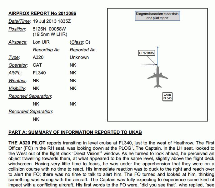Ver página (87) del reporte Airprox aquí: AQUÍ