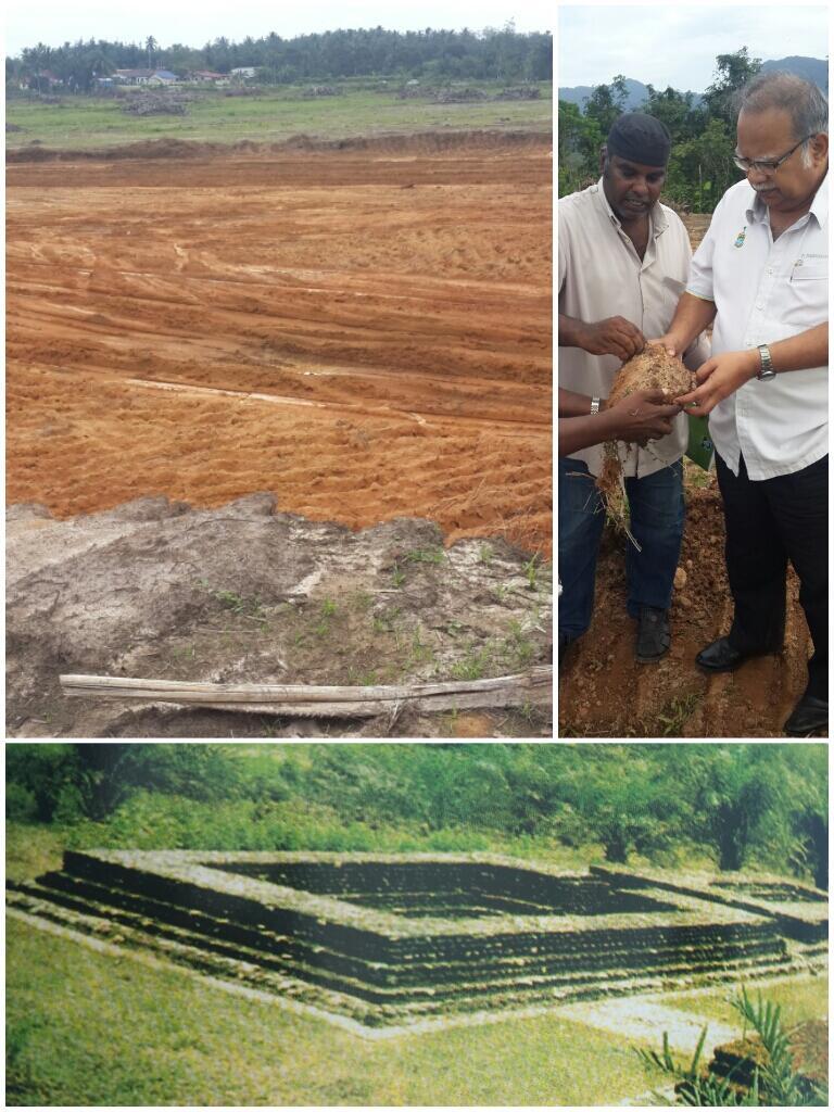 El templo fue destruido completamente y el terreno preparado para nuevas construcciones.