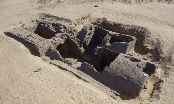 Tumba de 3,300 años de antigüedad.