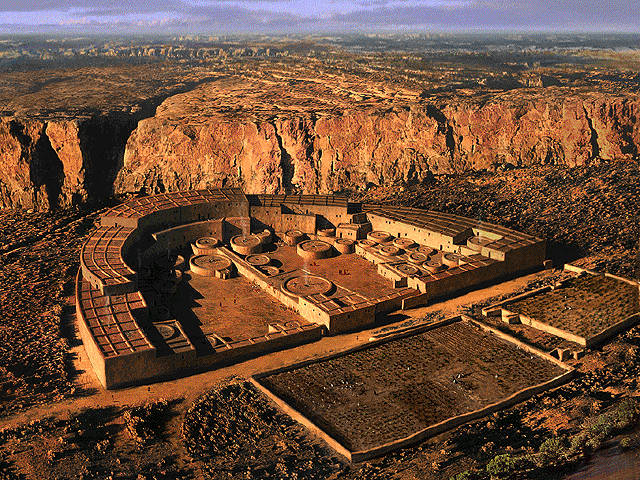Cañón del Chaco (Chaco Canyon).