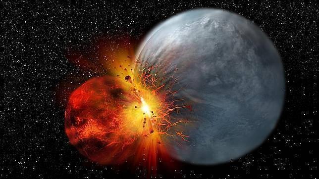 La luna se form mucho despu s de lo que se cre a for Que luna estamos ahora