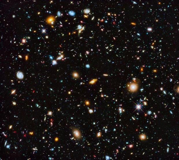 En esta imagen se contemplan más de 10.000 galaxias.
