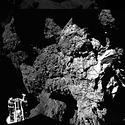 Post thumbnail of La primera foto de Philae sobre el cometa 67P