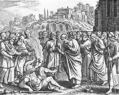 Los exorcismos se remontan a los tiempos de Jesús, quien —según la Biblia— tenía el poder para expulsar demonios y liberar eficazmente a las víctimas que estaban sujetos a ellos.