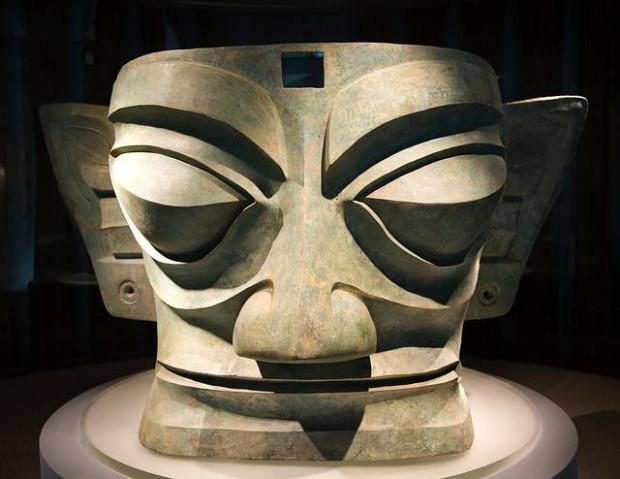 Máscara Sanxingdui.