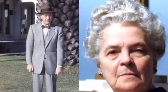 Bernard e Hilda Blair Ray.