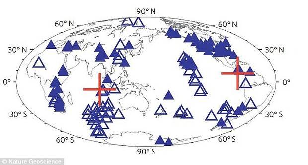 Los investigadores utilizaron datos sísmicos detectados por sensores ubicados alrededor del mundo, incluyendo China y Venezuela.