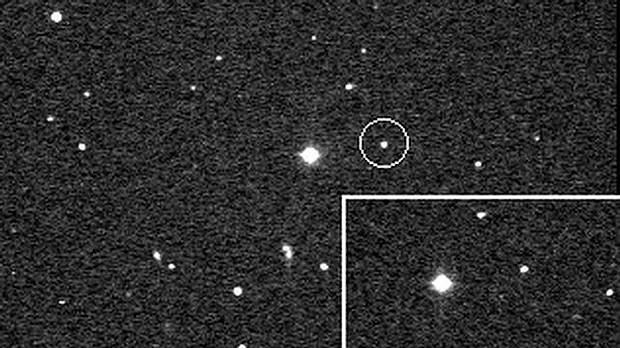 El planeta menor Quirón. FOTO: NASA.