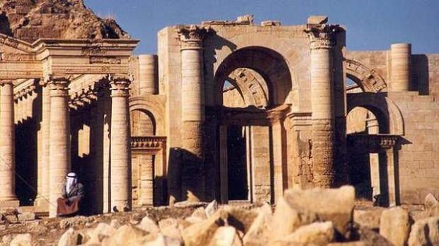 Ruinas de la ciudad de Hatra.