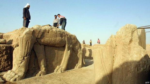La ciudad se encuentra en una región que agrupa 1.800 de los 12.000 sitios arqueológicos registrados en Irak.