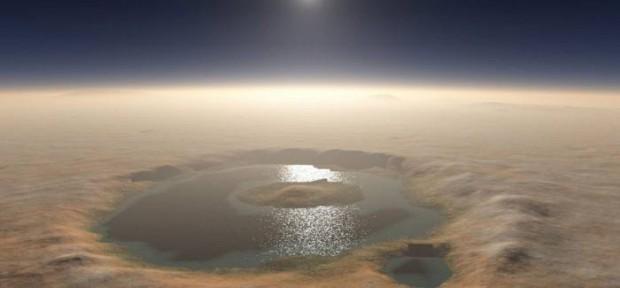 En el pasado, un clima más cálido permitió que en Marte hubiera sistemas de agua y lagos durante un largo periodo de tiempo.