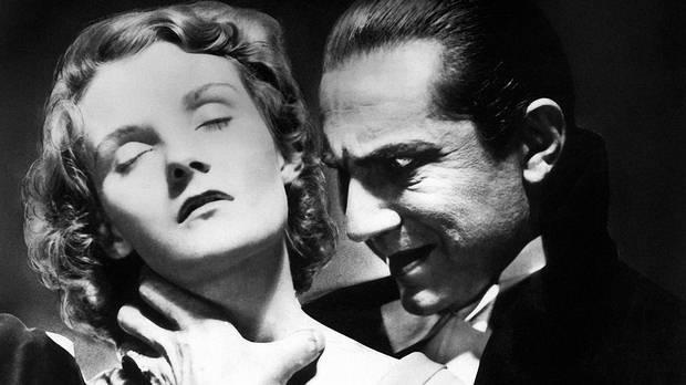 Drácula (película de Tod Browning), 1931. Clic en la imagen para ver trailer.
