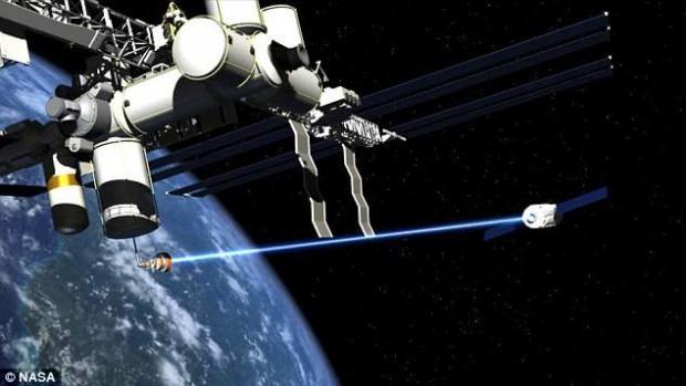 ¿Un pretexto ecológico para poner armas en el espacio?