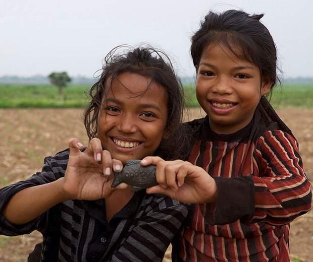 Casi el 50% de los camboyanos padece de anemia.