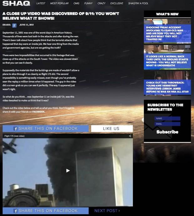 Captura de la controvertida publicación antes que fuera eliminada.
