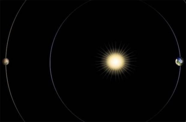 Este mes el Sol se interpondrá entre la Tierra y Marte.