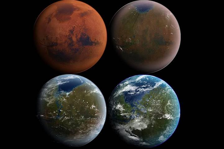 ¿Podremos convertir a Marte en la Tierra 2.0? DARPA diseña organismos para terraformar el planeta rojo Terraformacion