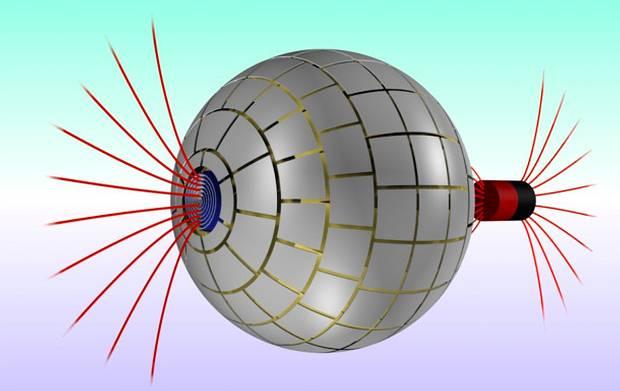 Modelo 3D del agujero. Crédito: Jordi Prat-Camps / UAB.