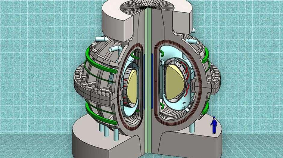 Reactor de fusión ARC planteado por el MIT.