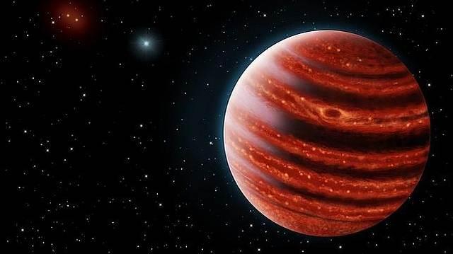 Concepción artística del nuevo exoplaneta descubierto.