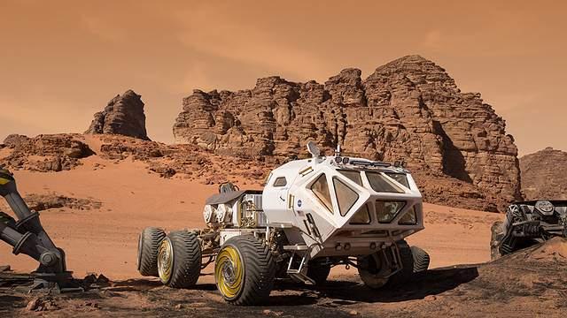 Rover utilizador por el astronauta Mark Watney en 'The Martian'.