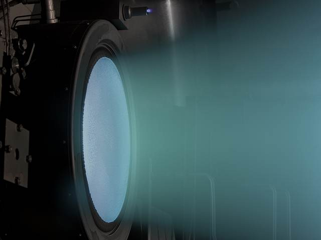 NASA's Evolutionary Xenon Thruster (NEXT).