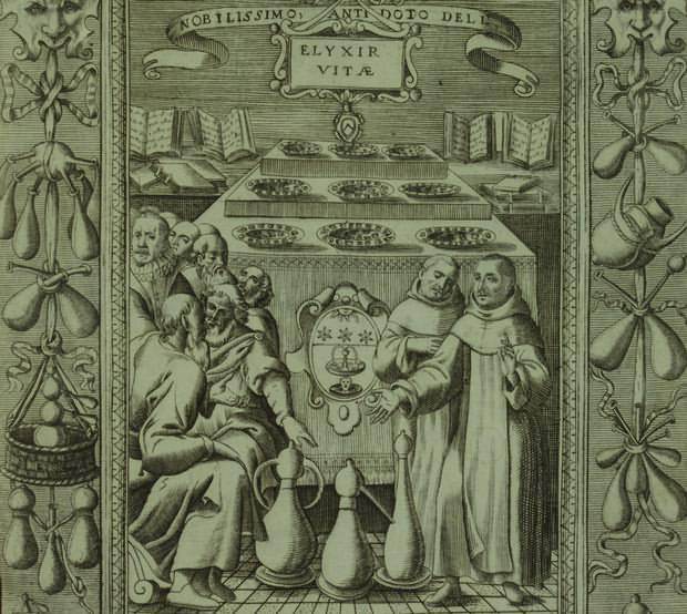 El Elixir de la Vida fue una de las metas perseguidas por muchos alquimistas como remedio que curara todas las enfermedades (panacea) y prolongara la vida eternamente.