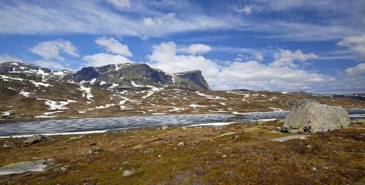 La región de Haukeli, Noruega. Foto: Kjersti Joergensen.