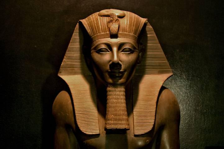 Tutmosis III, Museo de Luxor, Egipto.