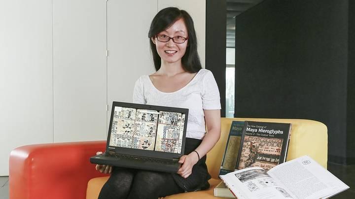 La investigadora Rui Hu.