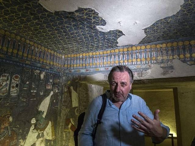 El arqueólogo británico Nicholas Reeves.