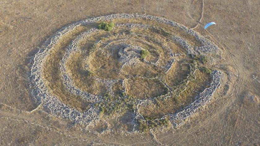 Rujm el-Hiri, ¿un monumento construido por la raza de gigantes bíblicos? Rujm-el-hiri