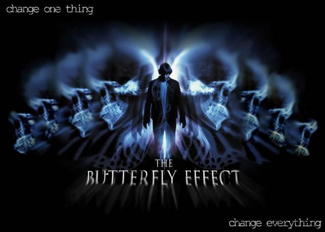 En la película 'El Efecto Mariposa' ('The Butterfly Effect' en su versión original) un estudiante de psicología descubre que, leyendo los diarios que él mismo escribió de adolescente por recomendación de su psiquiatra, puede regresar al pasado y cambiar las cosas.