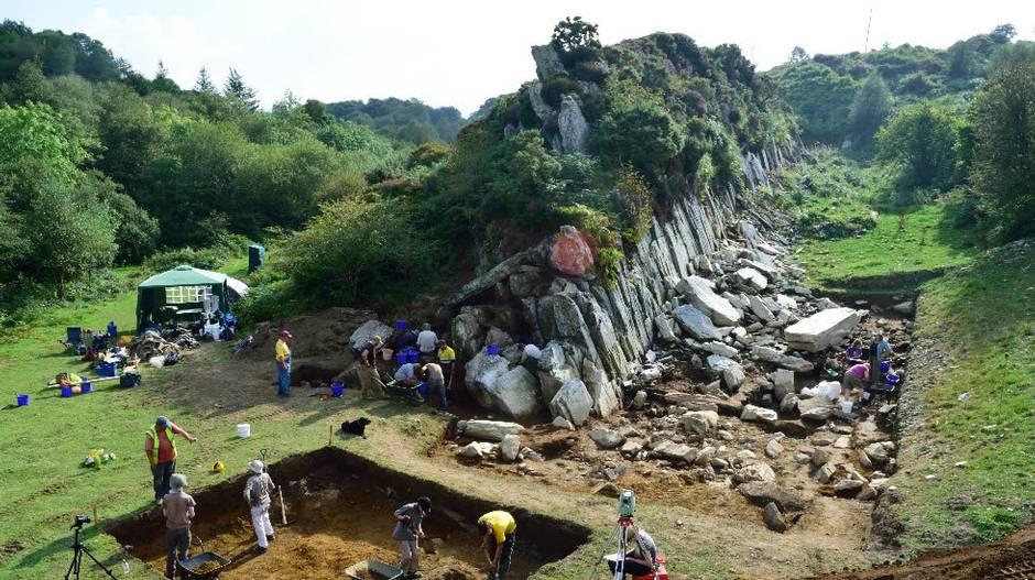 Fotografía de las canteras de Stonehenge.