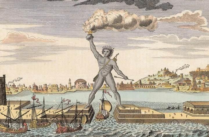 Para romper la alianza con Egipto, Rodas sufrió un épico asedio por parte de Demetrio Poliorcetes (305-304 a.C.). Finalmente Demetrio se retiró y firmó la paz, y dejó una gran cantidad de material militar en el lugar, que los rodios vendieron, y con el dinero recogido erigieron una estatua a Helios, conocida como el Coloso de Rodas.