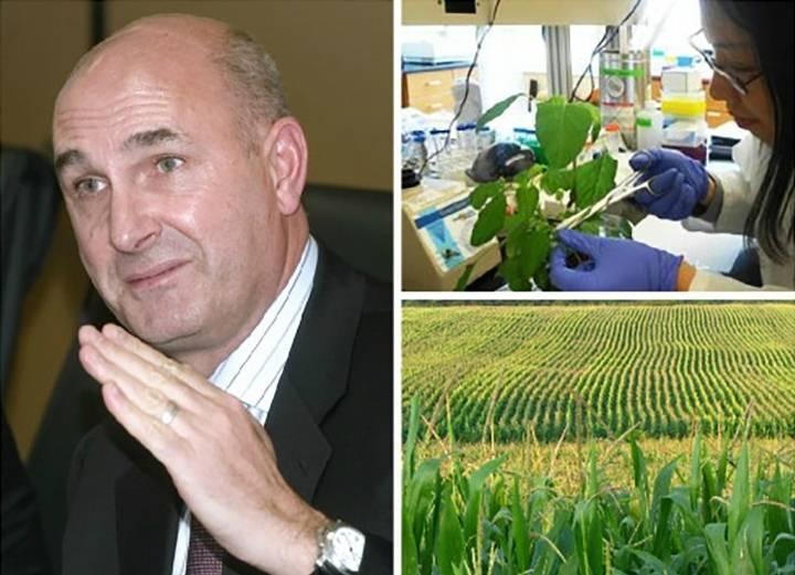Hugh Grant, CEO de Monsanto Company, productora de agroquímicos y biotecnología destinados a la agricultura.